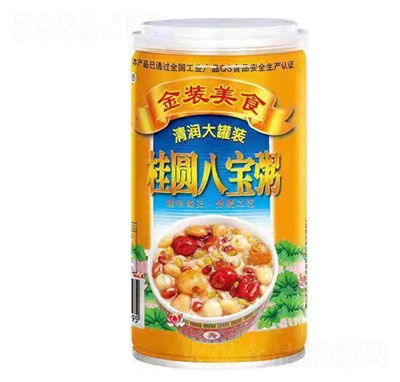 红威桂圆八宝粥(罐)产品图