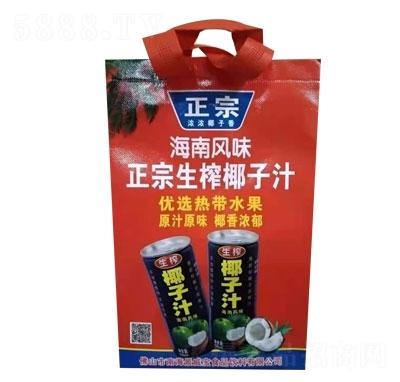 浓情果园椰子汁(袋)产品图