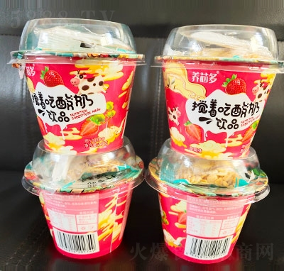 养芯多搅着吃酸奶饮品145克