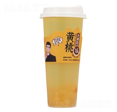 九磨�S桃果粒果汁�料630ml