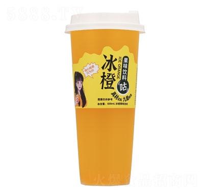九磨冰橙果味�料630ml
