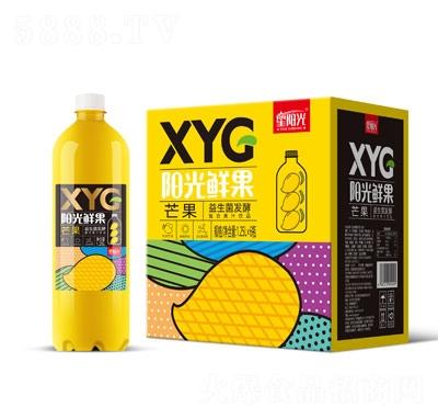 XYG�光�r果益生菌�l酵芒果汁1.25L×6瓶
