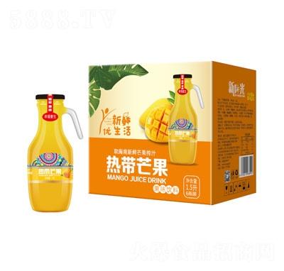 新�光���芒果果味�料1.5升×6瓶