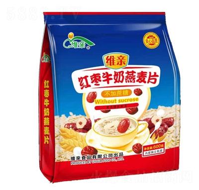 维亲红枣牛奶燕麦片产品图
