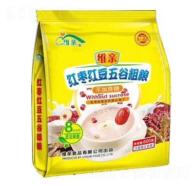 维亲红枣红豆五谷粗粮豆奶粉产品图