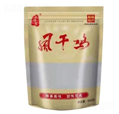 刘信忠风干鸡500g产品图