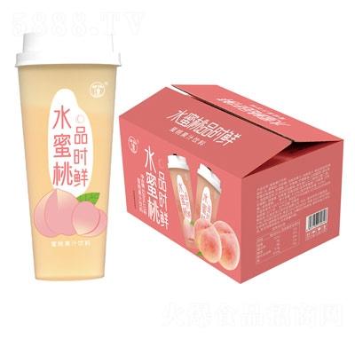 三��品�r�r水蜜桃杯�b果汁�料620ml×15杯