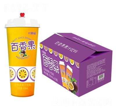 三���w果媛冰百香果�b果汁�料620ml×15杯