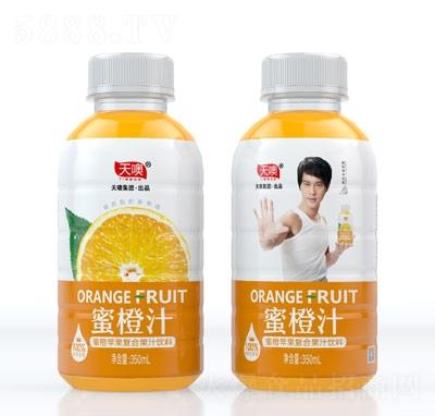天噢蜜橙�O果�秃瞎�汁�料350ml