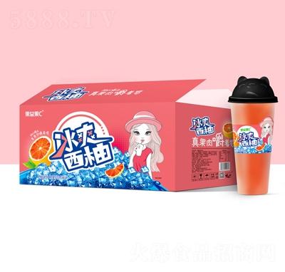果益果C冰爽西柚果汁饮料620mlX15