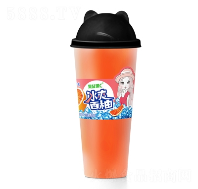 果益果C冰爽西柚果汁饮料620ml