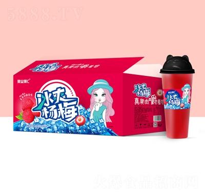 果益果C冰爽杨梅果汁饮料620mlX15