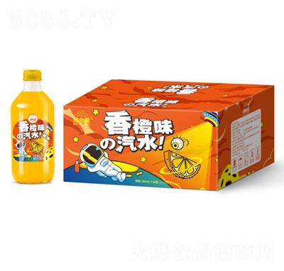 维他星香橙味汽水369mlX20瓶装