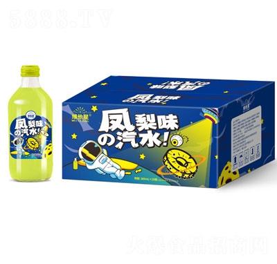 维他星凤梨味汽水369mlX20瓶装
