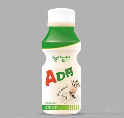 猛牛AD钙340毫升风味饮料