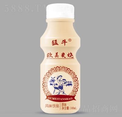 猛牛欧美炭烧风味饮品原味340毫升