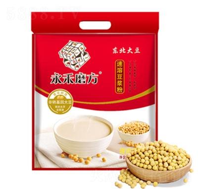 永禾磨方豆�{粉450g�a品�D
