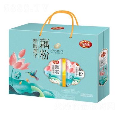 蜂香缘桂圆莲子藕粉礼盒