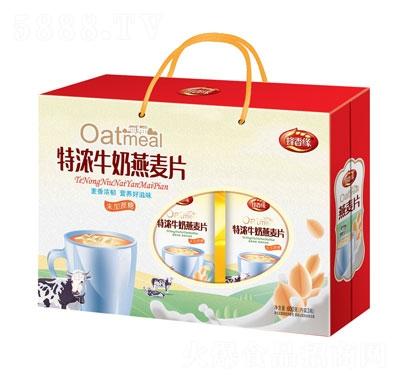 蜂香缘特浓牛奶燕麦片礼盒