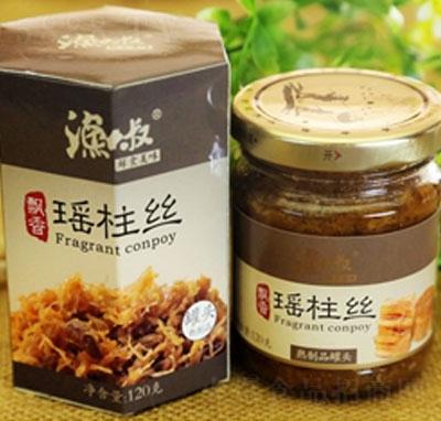 渔大叔香瑶柱丝海鲜零食罐头120g