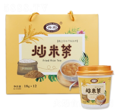 �d利速食炒米茶18gX12杯�a品�D