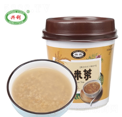 �d利速食炒米茶18g杯�b�a品�D