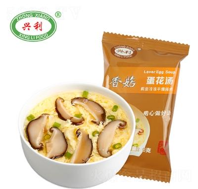 �d利香菇蛋花��6g�a品�D
