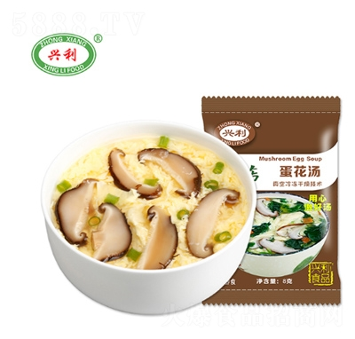 �d利香菇蛋花��8g�a品�D