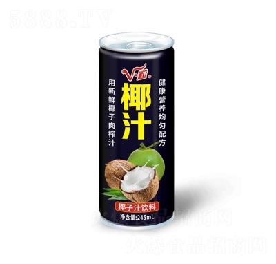 V粒椰子汁饮料245ml