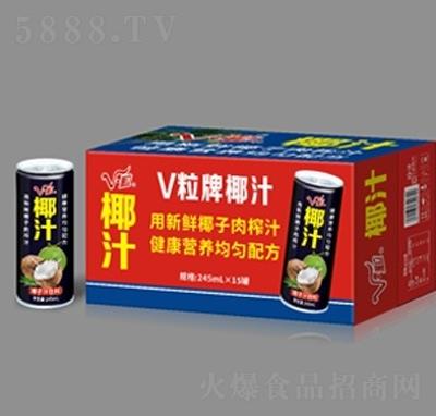 V粒椰子汁饮料245ml×15罐
