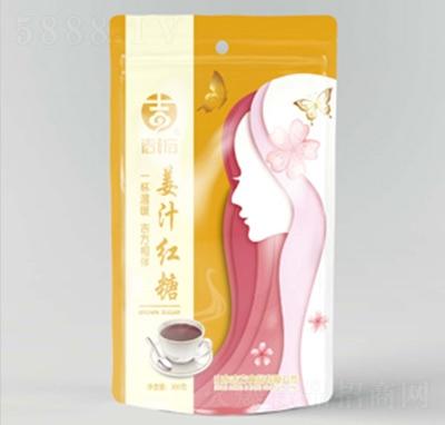 吉方姜汁�t糖�t糖300克�a品�D