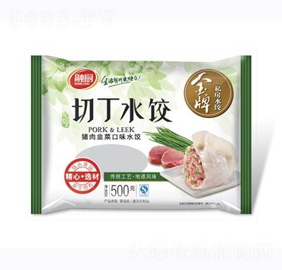 龙旺切丁水饺韭菜500g
