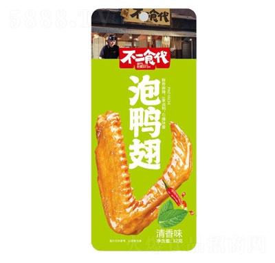 不二食代泡鸭翅清香味32g产品图
