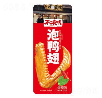 不二食代泡鸭翅香辣味32g产品图