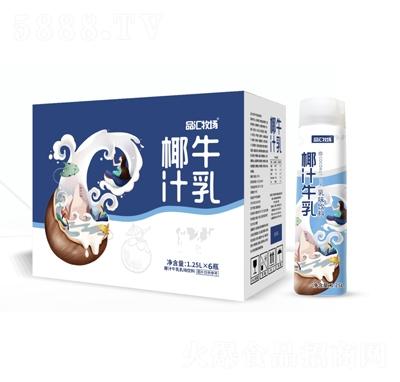品汇牧场椰汁牛乳乳味饮料1.25L×15瓶