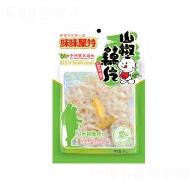 味味聚特山椒藕片80g