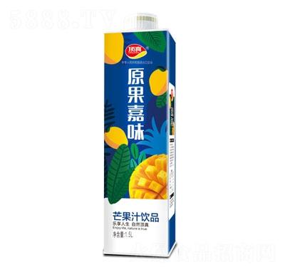 顶真原果嘉味芒果汁饮品1.5L