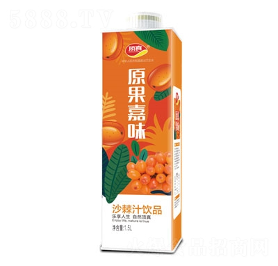 顶真原果嘉味沙棘汁饮品1.5L