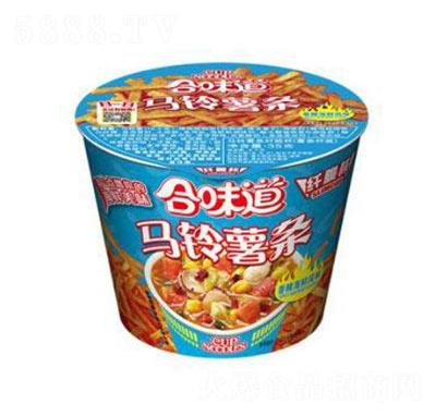 日清食品合味道纤脆杯香辣海鲜风味方便面35g