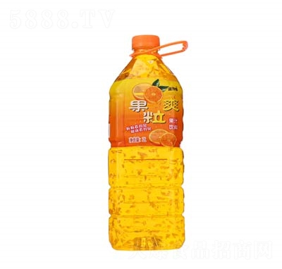 庞师傅果粒爽果汁饮料2L