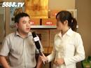 5888.TV在2012全国秋季糖酒会上采访上海源倍春生物科技优德88免费送注册体验金