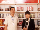 广东奇裕食品优德88免费送注册体验金接受火爆食品饮料招商网记者采访