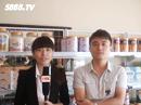 广东省汕头市雅发食品优德88免费送注册体验金接受5888.TV记者采访