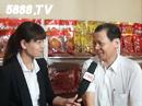 揭阳健士富食品有限公司在福州会上接受火爆食品网采访