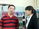 安徽麦船食品有限公司接受火爆食品网糖酒会现场采访