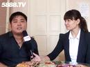龙海市迪亿佳食品有限公司第89届糖酒会接受5888.TV记者采访
