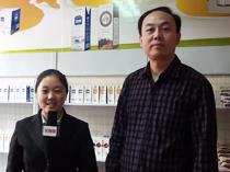 河北石家庄达利园乳业在2012春季糖酒会展会现场接受火爆网采访