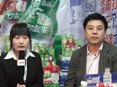 火爆网2012山东春季糖酒会上专访河南省淼雨饮品有限公司