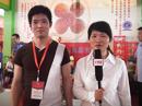 火爆食品网在第十届漯河食品博览会上采访喜来顺食品有限公司