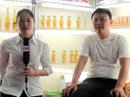 第六届食品博览会上东江海源乳品厂接受火爆网采访